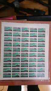 1978 XI CANADIAN COMMONWEALTH 30CENT STAMPS 50 MINT SHEET SEALED