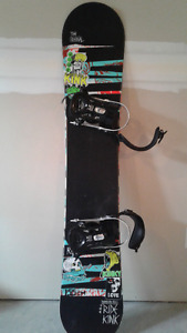 Ride Snowboard 155 cm with boots