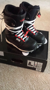 Like new Sims snowboard boots 2 pairs 5.5 and 7.