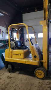 Hyster propane forklift CERTIFIED
