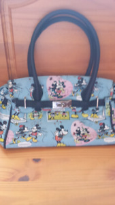 Purse - Mickey and Minnie Mouse