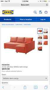 Brand new IKEA sectional/queen size