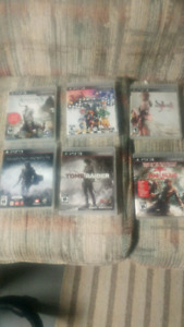 PlayStation 3 games 10$/game or trade
