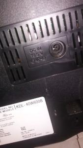19.5 v   sony bravia power cable (wall to tv)