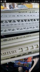 pvc.tile.trim new cream colour - 6mm