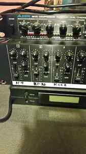 Rack gear Line Mixer and Korg Synth Module London Ontario image 2