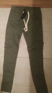 Silver Icing Olivia Cargo Pant Small