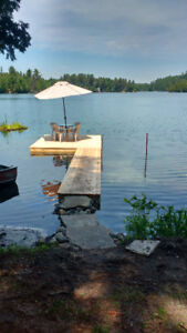 COTTAGE FOR RENT LAKEFRONT -1 HOUR FROM OTTAWA-SHAWVILLE AREA