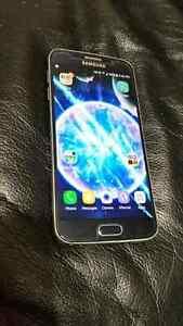 Blue Samsung Galaxy S6