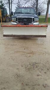 Arctic Snowplow and Truck for sale