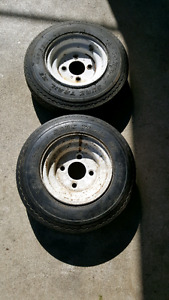 trailer tires and rims