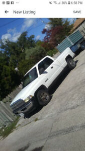 2001 Dodge Ram 1500 2x4 242 000km first $1000 takes it