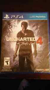 Uncharted 4 -Not opened