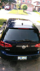 2015 Volkswagen Golf with 2000km