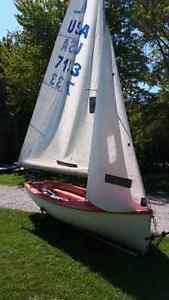 Albacore sailboat