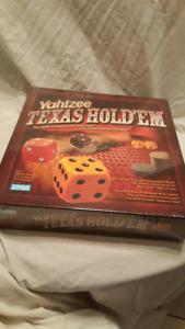 Texas Hold'em Yahtzee