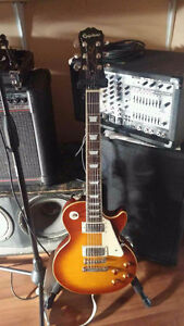 2014 Epiphone Les Paul Standard.. honey burst.. Sexy as Hell