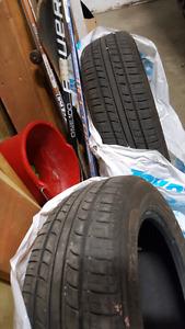 Minerva Radial summer tires x2 195/60 15