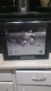 Framed Maurice Richard picture