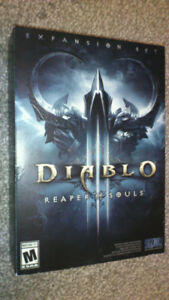 Brand New/Sealed - Diablo 3: Reaper of Souls Expansion Set - PC