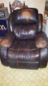 FREE leather rocker recliner