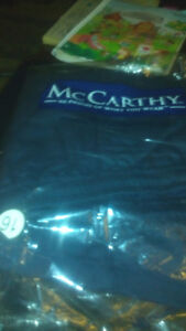 BOYS McCARTHY NAVY BLUE SCHOOL PANTS