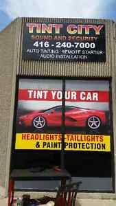 Window Tinting $150.00 Winter Special, Wiper Blades 2 for $20