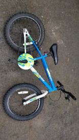 Kids bike, bmx style, 18 inch wheels