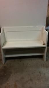 old door bench