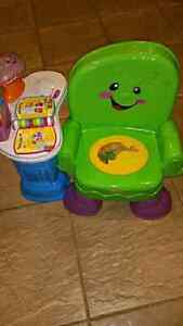 Fisher Price Laugh & Learn Smart Chair  Cambridge Kitchener Area image 1