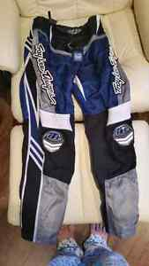 Troy Lee dirt bike pants and jersey