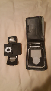 Ipod wallet and Arm band