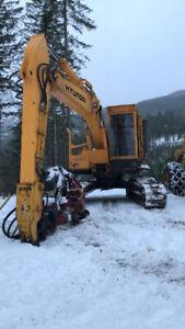 Logging Equipment - Buncher, Loader, Skidder