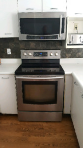 Samsung Convection Stove, Oven and Microwave