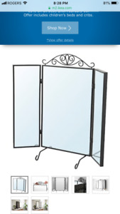 Brand new IKEA table mirror is for sale