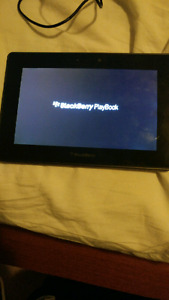 32 Gb playbook tablet with keyboard