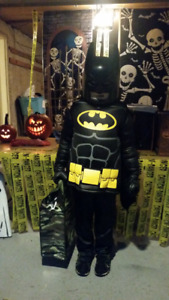 Kids Lego Batman Costume Large
