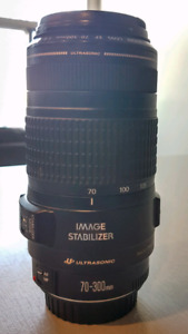 Canon body and lens