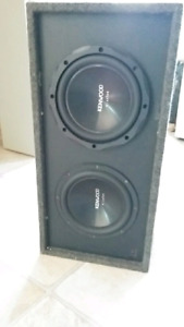 Sub Woofer and 1000 W Mono Amp