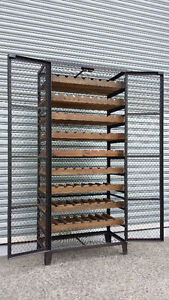 NEW FRENCH INDUSTRIAL RECYCLED VINTAGE BORDEAUX CAGE WINE RACK Chipping Norton Liverpool Area Preview