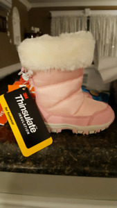 Girls toddler winter boots NWT