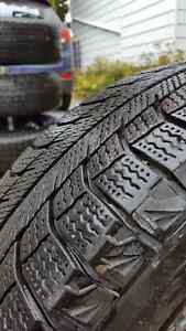 4 Michelin X-Ice 2 winter tires 185/65 R15 with rims 4 X 114