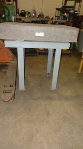 Mitutoyo Graplate Table, Repurpose as Kitchen Island, In Auction London Ontario image 2