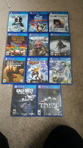 PS4 GAMES FOR SALE CHEAP
