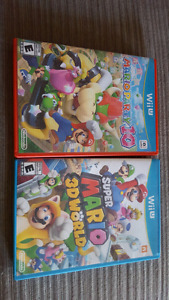 Mario party 10 and super mario 3d world