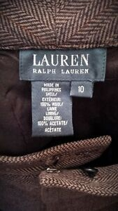 RALPH LAUREN wool slacks