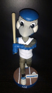 Looking for: Ace mascot bobblehead blue jay bird figurine