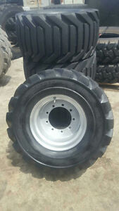 33x15.50-16.5 OTR Outrigger Foam Filled Tires JLG 450AJ
