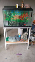 Fish tank/Stand/Accessories FOR SALE.