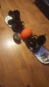 Selling snowboard gear VERY CHEAP will take trades